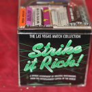 Las Vegas STRIKE IT RICH  Match Book Casino Matches Match Collection