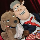 BILL CLINTON BULL CLINTON AND BUDDY THE DOG INFAMOUS MEANIES -- RARE