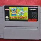 Super Nintendo Tiny Toon Buster Bust Loose