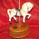 Albert E. Price Carousel Collection Limited Edition Music Box on Oak Base