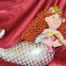 "Aurora World Red Head Princess Mermaid 13"" Plush"