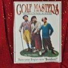 "THREE STOOGES Golf Masters ""Bogies Into Boidies"" TIN SIGN Golf Poster TV Print"