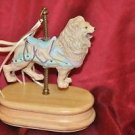 "Carousel Lion Music Box ""Somewhere over the Rainbow"""