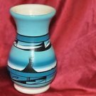 NATIVE AMERICAN CEDAR MESA NAVAJO POTTERY VASE-BEGIN THE TRAIL-ARTIST SIGNED