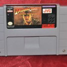 Super Nintendo Indiana Jones' Greatest Adventures (1994) Rare SNES Game!