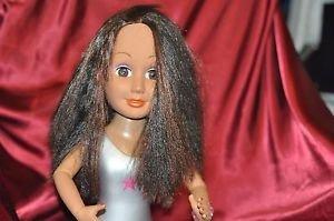 "Entertainment Design Makeup Hair Mannequin Head Oval Base 15"""