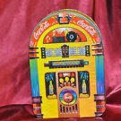 "COCA COLA TIN ~ ""Always Rockin"" Juke Box 1998 Excellent Beautiful Piece!"