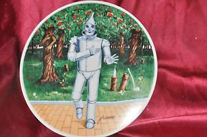 THE TIN MAN If I Only Had A Heart Wizard Of Oz Knowles Collectors Plate 1978