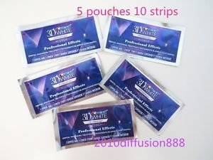 **Crest** 3D White Whitestrips Luxe Professional Effects**5 Pouches 10 strips**