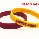 *CLEVELAND CAVALIERS**LEBRON JAMES** BASKETBALL STAR  ID WRIST BANDS BRACELET