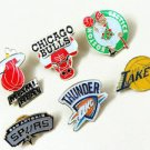 NEW!!!***NBA BASKETBALL TEAMS*** BASKETBALL PIN BROOCH BADGE SOUVENIR EMBLEM