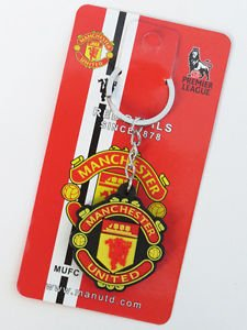 MANCHESTER UNITED KEYFOB KEYCHAIN COLLECTIBLE GREAT GIFT DOUBLE-SIDE NEW