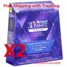 *CREST3D* PROFESSIONAL EFFECTS LUXE WHITESTRIPS *2 Boxes 40 POUCHES 80 STRIPS*