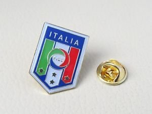 **WORLD CUP**ITALY** NATIONAL TEAM FOOTBALL SOCCER PIN BROOCH BADGE SOUVENIR