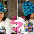BRAND NEW!!!  KIDS LIGHTNING KNIT HAT WINTER WARM BEANIE