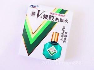Brand New Rohto Eyedrops New V Rohto Plus Eye Drop 13ml