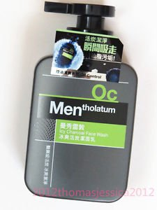 Mentholatum Icy Charcoal Oil Control Face Wash for Men 150ml