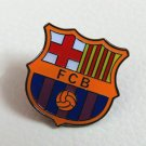 BARCELONA  FOOTBALL PIN BROOCH BADGE SOUVENIR EMBLEM