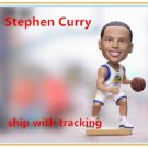 New!!! Golden State Warriors #30 Stephen Curry Bobblehead Figure 16cm Tall