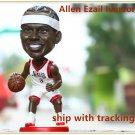 New!! Philadelphia 76ers #3 Allen Ezail Iverson Bobblehead Figure 12.3cm Tall