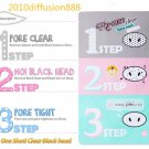 New!!! Holika Holika Pig-Nose Clear Black Head 3-Step Kit Nose Pore Strip
