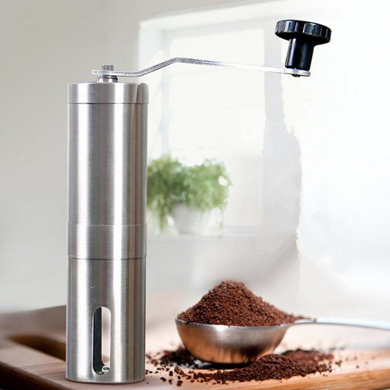 Manual Coffee Grinder Hand Steel Ceramics Core Coffee Grinding Hand Mill Cafe
