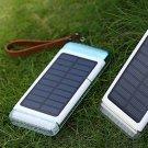 3 USB Solar Power Bank 300000mAh Portable External Battery Charger Waterproof