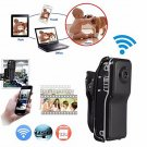 MD81 Mini WIFI/IP Wireless Spy Remotes Surveillances DV Security Micro Camera