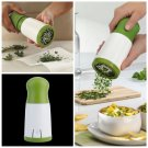 Herb Mill Chopper Cutter Mince Stainless Steel Blades Plastic Body Safely