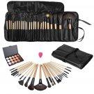 24Pcs Professional Make Up Brush Set Foundation Cosmetic Makeup Concealer Platte
