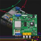 Green Arcade Game RGB/CGA/EGA/YUV to VGA HD Video Converter Board GBS8200