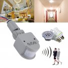 Outdoor AC Automatic Infrared IR PIR Motion Sensor Switch Auto On off LED Light