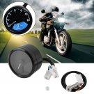 LCD Digital Tachometer Speedometer Odometer Motorcycle Motorbike 12000RPM BE