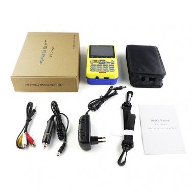 Freesat 3.5 Inch LCD FTA Signal Pointer Digital Satellite Meter V8 Finder LOT