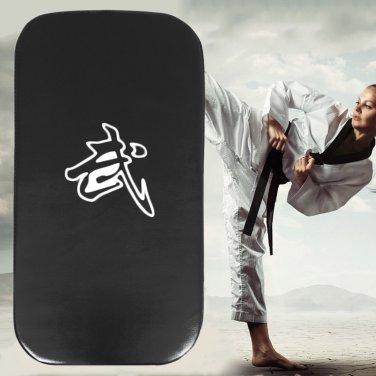 Leather PU Martial Art Taekwondo MMA Boxing Kicking Punching Foot Target Pad