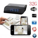 32G HD 720P Wireless Wifi IP Spy Hidden Camera Motion Security Alarm Clock IR DV