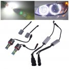 2pcs High Power Error Free LED Angel Eyes Light Bulbs For BMW E92 H8 120W