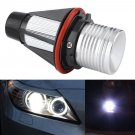 New Angel Eyes Halo 5W LED Ring Light Bulbs for BMW X5 E39 E60 E63 E64 E53 White