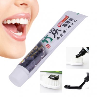 100G Whitening Oral Hygiene Bamboo Charcoal Toothpaste Teeth Care Accessory