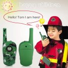 2Pcs Walkie Talkie Children Kids Electronic Toys Portable Two-Way Radio Set
