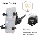 Universal Motorcycle Phone Holder Support Stand Mount Bracket Cellphone GPS HOT