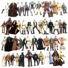 10Pcs Random Pick STAR WARS 3.75 Inch Movie Action Figures Kids Boys Toys Gifts