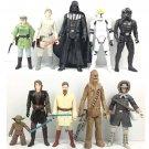 "10pcs/set Star Wars Epic Battles LEIA LUKE SCOUT CHEWBACCA 3.75"" Action figure"