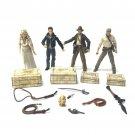 4Pcs Indiana Jones Figure WILLIE SCOTT TEMPLE GUARD OF DOOM Short Round