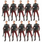 10pcs STAR WARS Padme Amidala attack of the clones action Figure toy L04