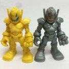 "2x Playskool ULTRON SENTRY Marvel Super Hero Adventures 2.5"" Action Figure toy"