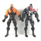"""2x Marvel legends spiderman classics  VENOM From Toy 7"""" Action Figure toy 2017"""