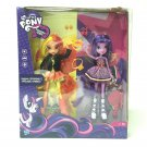 NEW My Little Pony Sunset Shimmer & Twilight Sparkle Figures Equestria Girls toy
