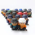 "Random 5pcs TEENYMATES NHL 1"" FIGURE SERIES 1 Nordiques Vintage Hockey Slapper"