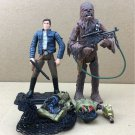New movie Star Wars LEGACY Han Solo, Chewbacca & C-3PO Action Figures toys S447
